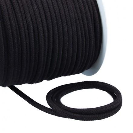 Kordel Baumwolle 6 mm für Turnbeutel dunkelgrau Meterware