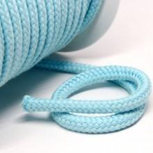 Kordel Baumwolle 8 mm für Turnbeutel hellblau Meterware