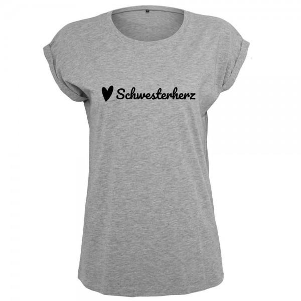 Schwesterherz T-Shirt Frauen Damen Women